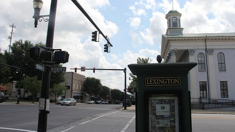 Brandi Temple's hometown of Lexington