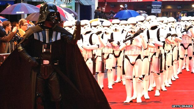 Premiere for Star Wars Episode III: Revenge of the Sith
