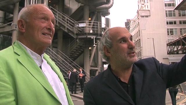 Richard Rogers and Alan Yentob