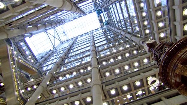 Lloyd's building: interior