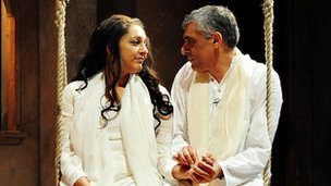 Meera Syal and Paul Bhattacharjee