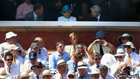 The Queen at Lord's