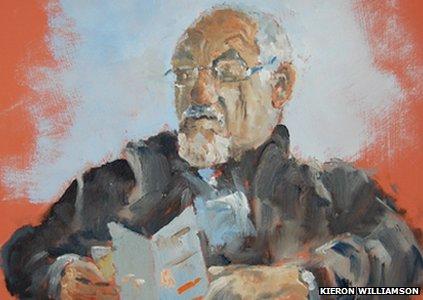 Portrait of Kieron's granddad
