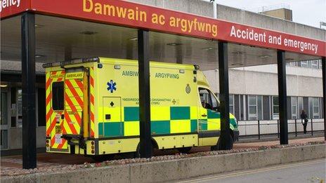 Glan Clwyd hospital, Bodelwyddan, Denbighshire