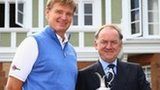 Ernie Els and Peter Dawson