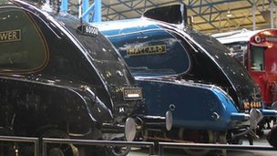 Mallard at National Railway Museum in York