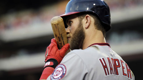 Bryce Harper became the youngest position player ever to be selected for the All-Star game in 2012