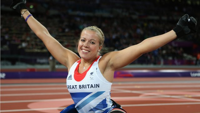 Double world and Paralympic champion Hannah Cockroft