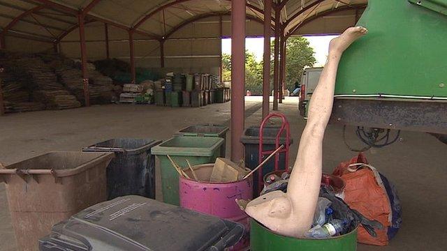 Glastonbury Festival clean-up