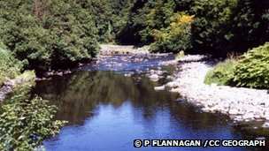 The incident happened on the River Roe near Limavady