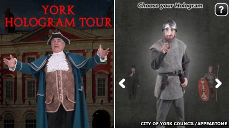 York Hologram Tour