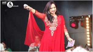 Nadia Ali at Boishakhi Mela