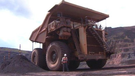 Amazon iron ore mine