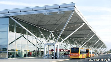 Terminal at Stansted Airport, Essex