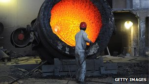 Chinese steel works