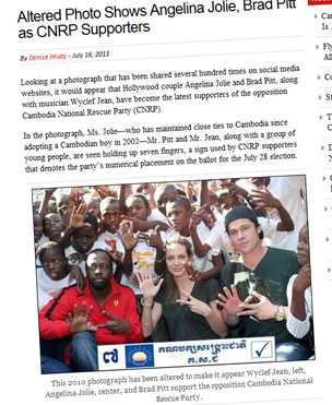 Screengrab from the Cambodia Daily