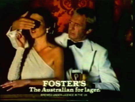 Paul Hogan in Foster's advert