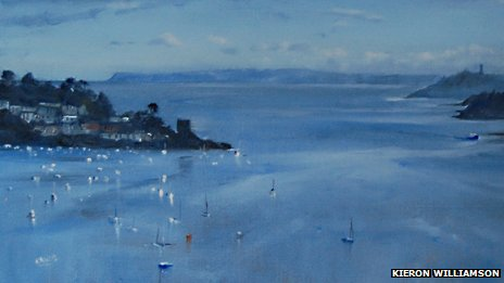 Fowey Estuary by Kieron Williamson (detail)