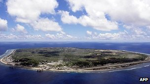Island of Nauru (file image)