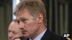 Russian presidential spokesman Dmitry Peskov (file pic)