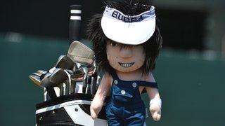 Bubba Watson's golf bag