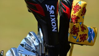 Scottish-themed golf clubs