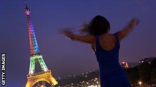 The Eiffel Tower, Paris