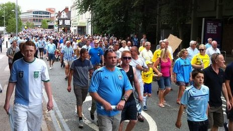 Sky Blues march - from Kevin Reide on 20th July 2013