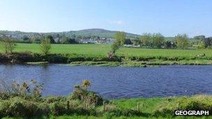 River Strule in Newtownstewart