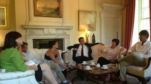 Child abuse meeting in Downing Street