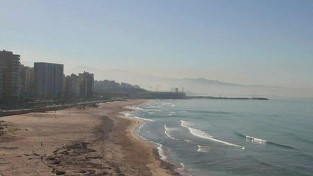 Lebanese beach