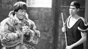 Patrick Troughton and David Spenser