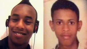 Mohammed Abdi Farah and Amin Ahmed Ismail
