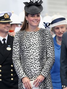 File photo dated 13/06/13 of the Duchess of Cambridge