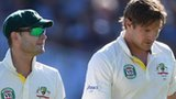Australia captain Michael Clarke (left) and opener Shane Watson
