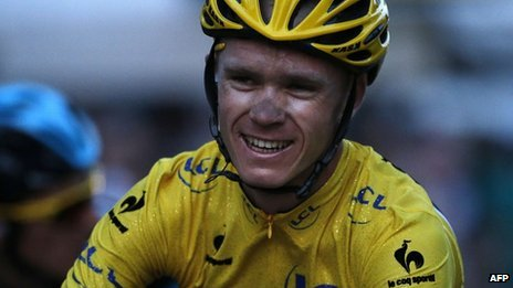 Chris Froome  (21 July 2013)