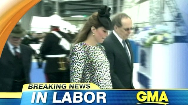 GMA's coverage of the royal baby's impending arrival