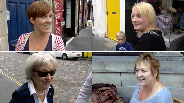 People in St Andrews