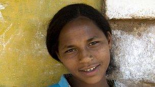 Ethiopian teenager Meaza Garedu