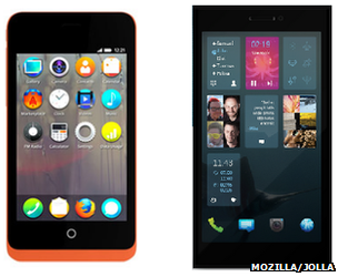 Firefox and Sailfish phones