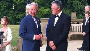 Prince Charles at Harewood House