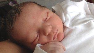 Charlotte Elizabeth Rose, born 14:15