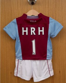 Prince's Aston Villa kit