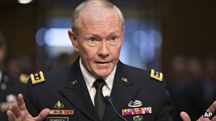 Joint Chiefs of Staff chairman Gen Martin Dempsey. Photo: July 2013