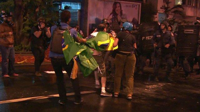 Rio de Janeiro clashes