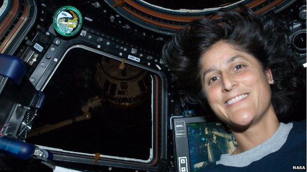 sunita williams in space station - photo #3