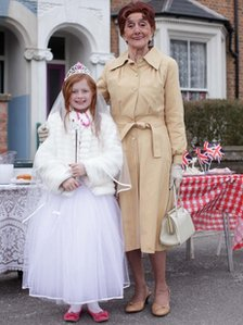 Maisy Smith and June Brown in EastEnders