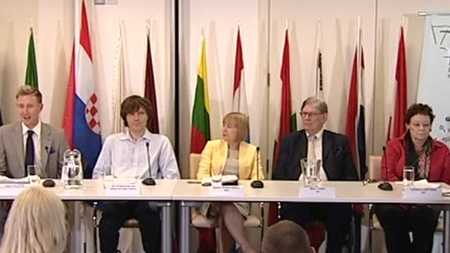Panel discussion at Europe House
