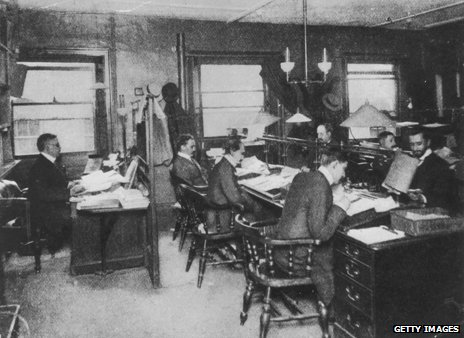 Reuters office, 1900
