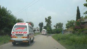 Edhi Foundation vans